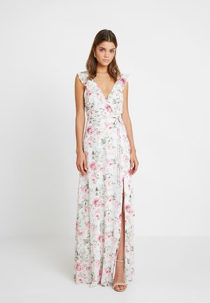FLOWY FLOUNCE WRAP GOWN - Suknia balowa - multi-coloured