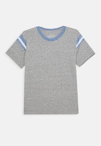 FOOTBALL TEE - T-shirt basic - heather grey