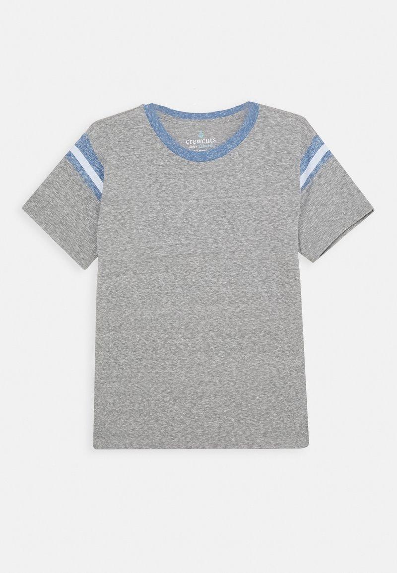 J.CREW - FOOTBALL TEE - Basic T-shirt - heather grey