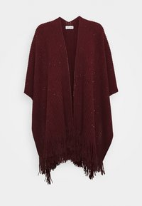 Molly Bracken - LADIES PONCHO - Cape - dark red - 0