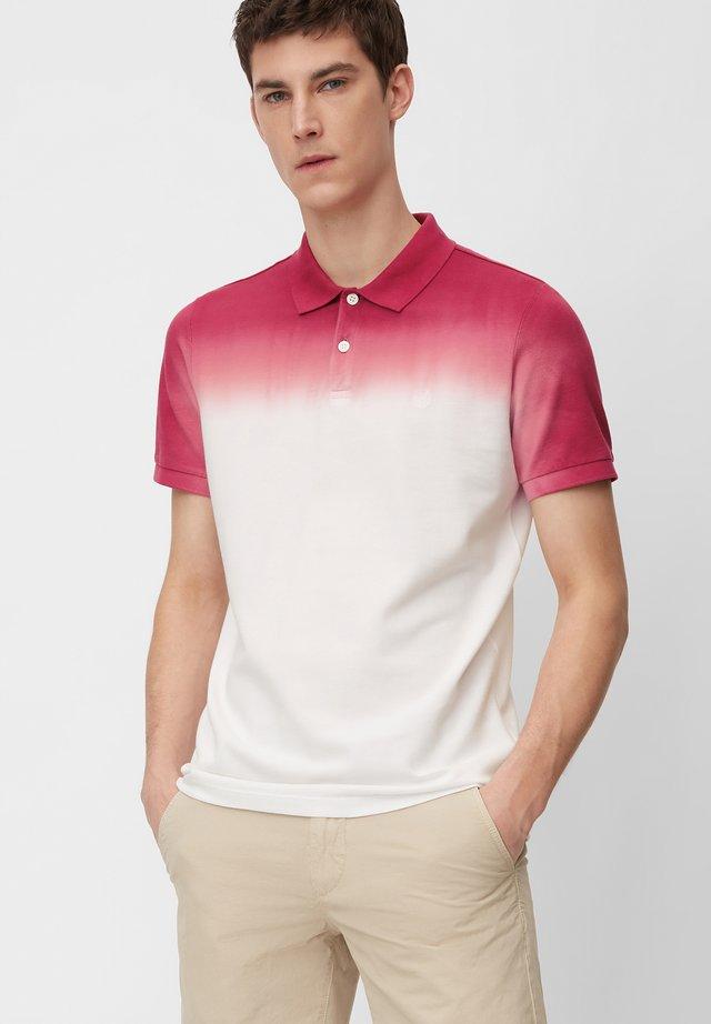 Polo shirt - rhododendron