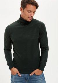 DeFacto - Stickad tröja - green - 0