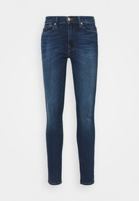 7 for all mankind - CROP ILLUSION NEVER ENDING - Skinny džíny - mid blue - 0