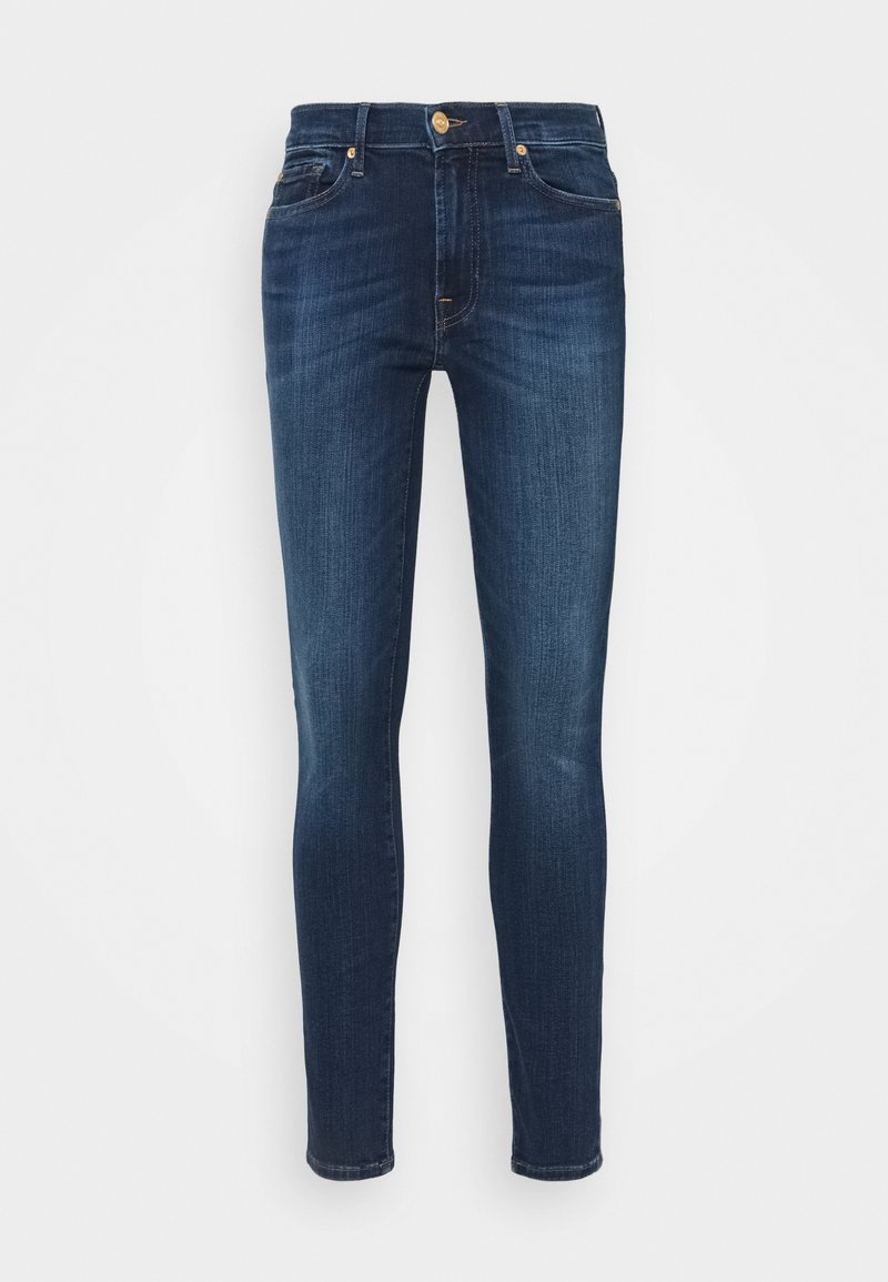 7 for all mankind - CROP ILLUSION NEVER ENDING - Skinny džíny - mid blue