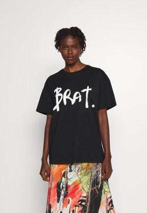 BRAT - T-shirt print - black