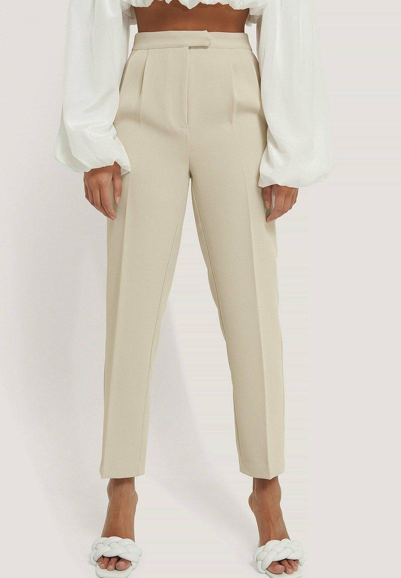 NA-KD - Trousers - offwhite