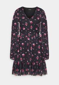 Even&Odd Tall - Denní šaty - black/multi-coloured - 4