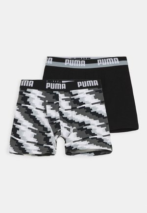 BOYS GLITCH BOXER 2 PACK - Pants - black combo