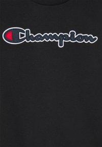 Champion Rochester - LOGO CREWNECK UNISEX - Sweatshirt - black - 2