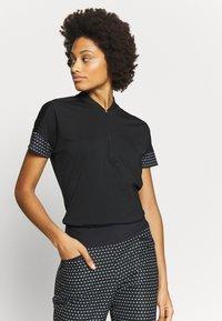 adidas Golf - T-shirt con stampa - black - 0
