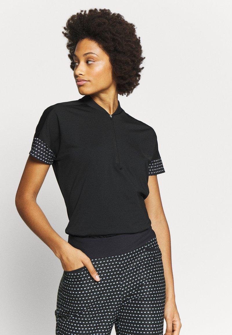 adidas Golf - T-shirt con stampa - black