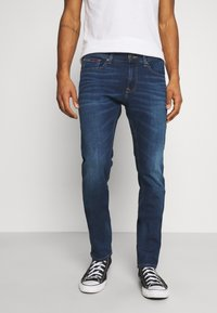 Tommy Jeans - SCANTON SLIM ASDBS - Jeans slim fit - aspen dark blue - 0