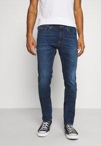 Tommy Jeans - SCANTON SLIM ASDBS - Vaqueros slim fit - aspen dark blue - 0