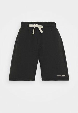 HEAVY  UNISEX - Shorts - washed black