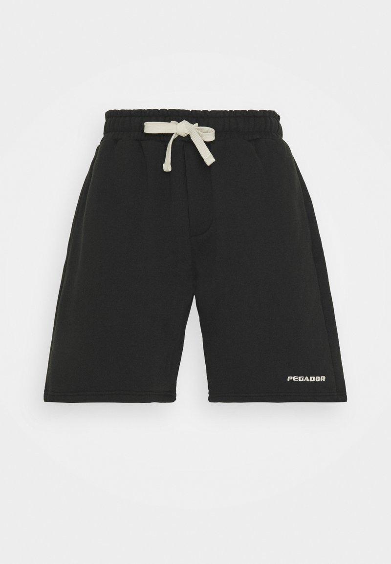 Pegador - HEAVY  UNISEX - Shorts - washed black