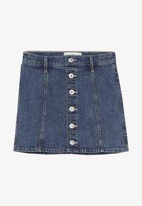Abercrombie & Fitch - SKIRT - Denim skirt - medium wash denim - 2
