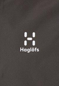 Haglöfs - SPIRA ANORAK MEN - Tuulitakki - magnetite/pumpkin yellow - 5