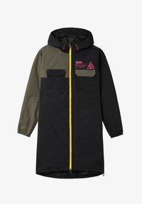 WM 66 SUPPLY LONG ANORAK MTE - Waterproof jacket - black