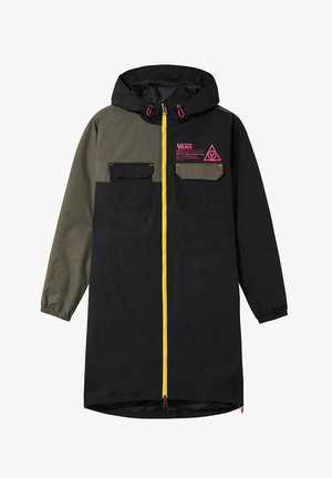 WM 66 SUPPLY LONG ANORAK MTE - Waterproof jacket - black