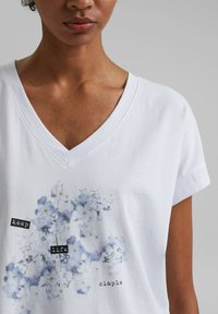 edc by Esprit - Print T-shirt - white - 5