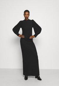 Gestuz - CHAIAGZ MAXI DRESS - Occasion wear - black - 1