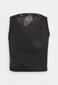 Puma - STUDIO CROP - Camiseta de deporte - black - 3
