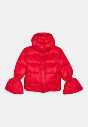 PIUMINO LOGO - Winter jacket - red
