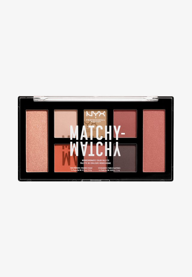 MATCHY-MATCHY MONOCHROMATIC PALETTE - Oogschaduwpalet - camel