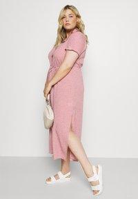 Glamorous Curve - DRESS - Shirt dress - rosa - 3