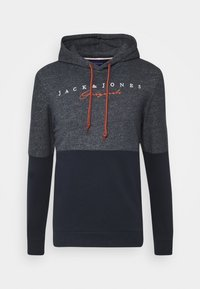 Jack & Jones - JORTRAILER HOOD - Sweatshirt - navy blazer - 0