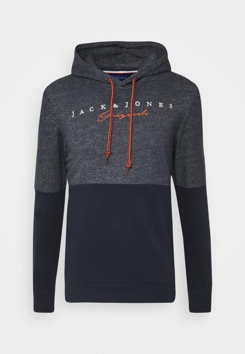 Jack & Jones - JORTRAILER HOOD - Sweatshirt - navy blazer