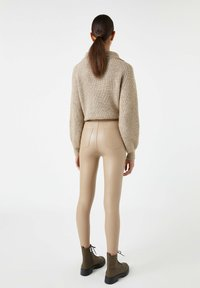 PULL&BEAR - Leggings - Trousers - beige - 2