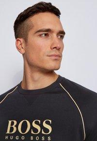 BOSS - TRACKSUIT SWEATSHIRT - Sweatshirt - black - 3