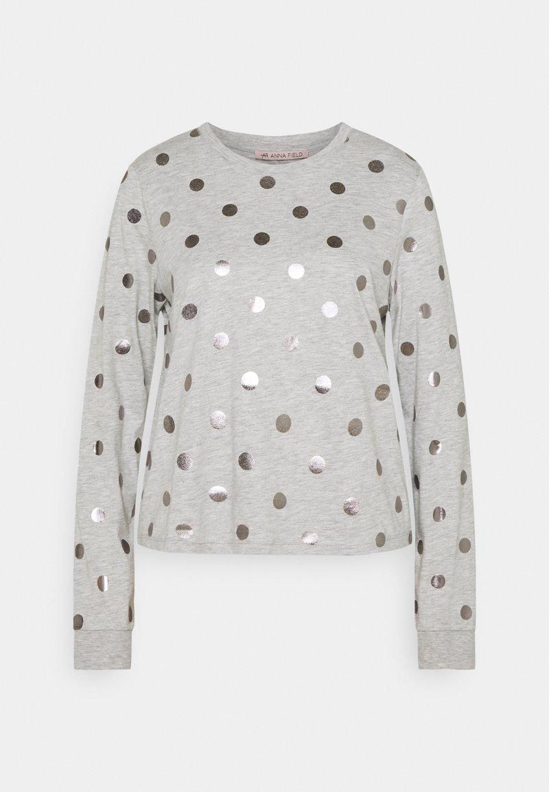 Anna Field - Langærmede T-shirts - grey