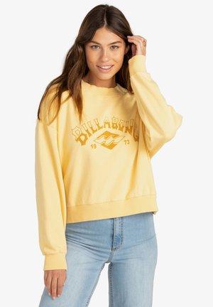 DESERT ARCH - Sweatshirt - mellow yellow