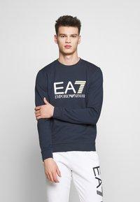 EA7 Emporio Armani - FELPA - Sweatshirt - navy blue - 0