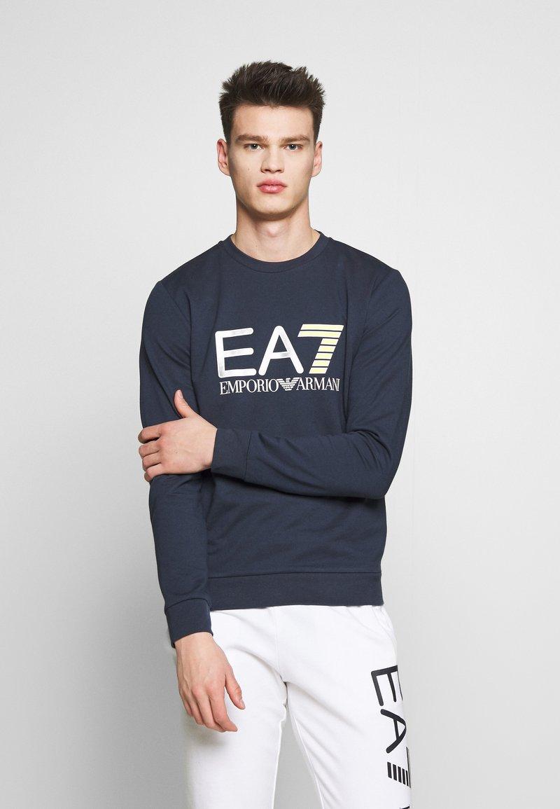 EA7 Emporio Armani - FELPA - Sweatshirt - navy blue