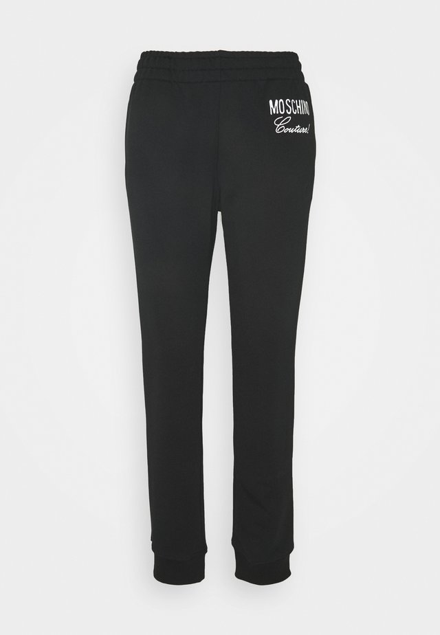 TROUSERS - Tracksuit bottoms - black