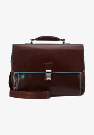 BRIEFCASE WITH FLAP - Laptop bag - moro