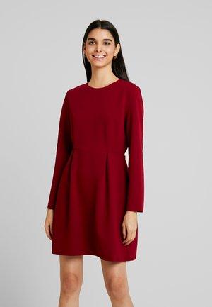 LADIES DRESS - Žerzejové šaty - dark red