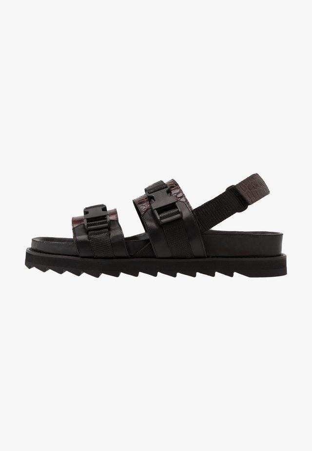JORAN - Sandals - dark brown