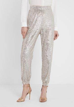 ANNUNCIARE  - Spodnie materiałowe - platino