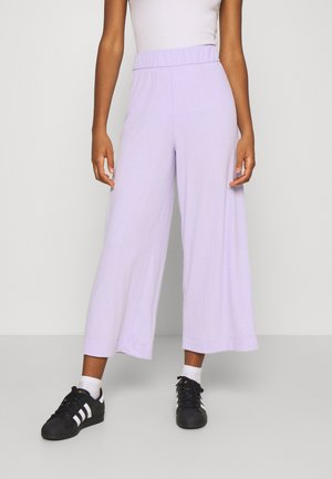 CILLA TROUSERS - Tracksuit bottoms - lilac