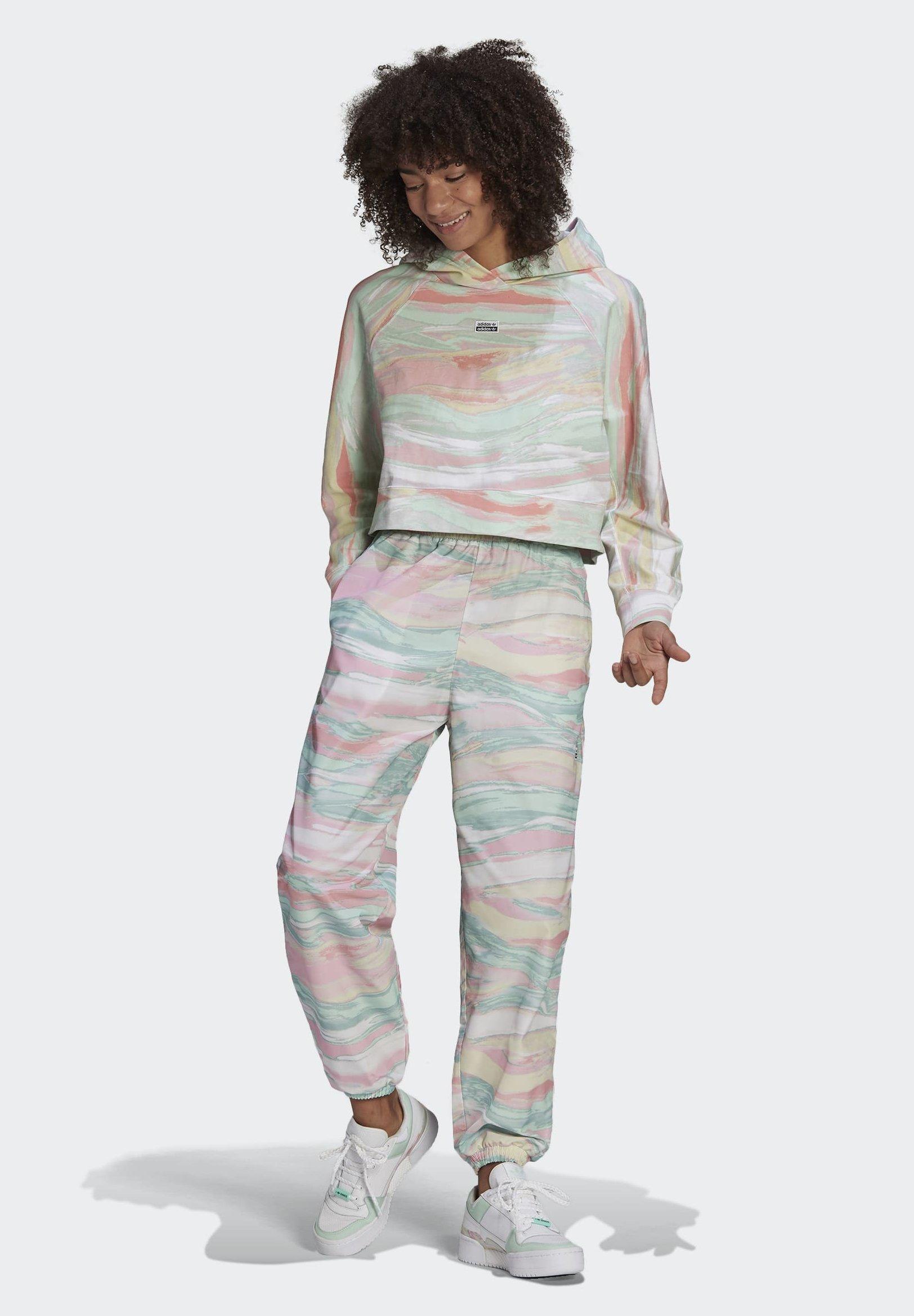 Femme R.Y.V. CROP HOODIE - Sweatshirt