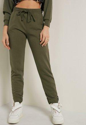 Tracksuit bottoms - verde kaki