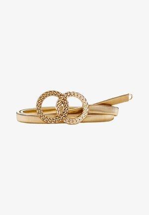 Waist belt - gold