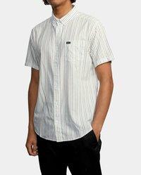 RVCA - Shirt - antique white - 0
