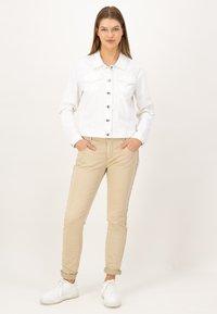 JUST WHITE - Summer jacket - weiss uni - 1