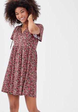 Vestido informal - multico