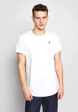 LASH ROUND SHORT SLEEVE - T-shirt basic - white